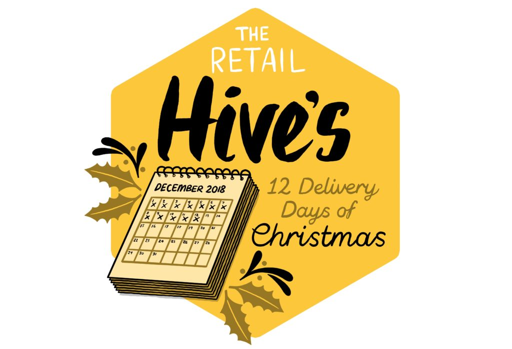 12 Delivery days of Christmas